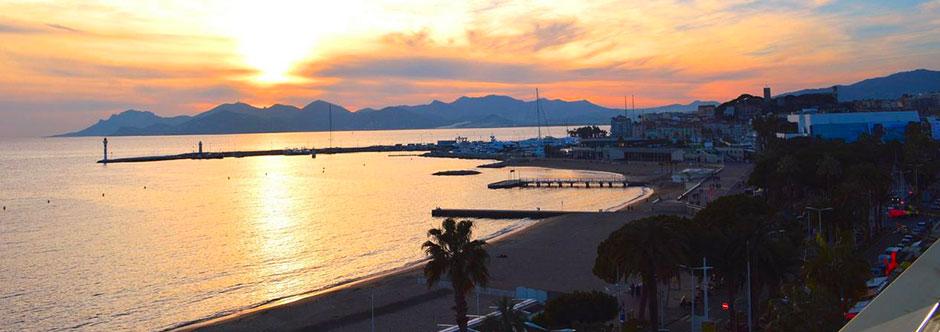 Vue appartement Cannes - Côte d'Azur